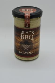 Black BBQ Bacon Aioli