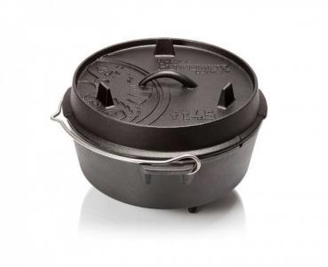 Petromax Dutch Oven ft4.5 with a plane bottom surface