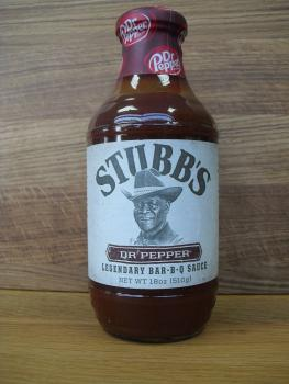 Stubbs Dr. Pepper Bar-B-Q Sauce 1 Flasche 450ml
