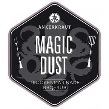 Ankerkraut: Magic Dust, BBQ-Rub,  Tüte 250g
