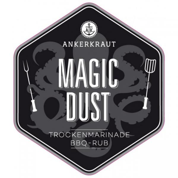 Ankerkraut: Magic Dust, BBQ-Rub,  Tüte 750g